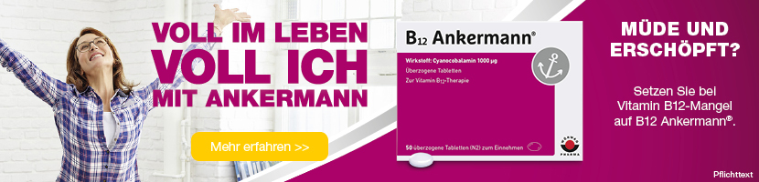 Banner zu B12 Ankermann Tabletten